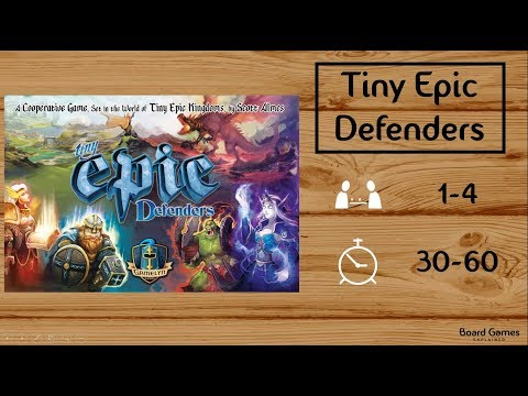 Tiny Epic Defenders (2nd Ed.) Explained in 5 Minutes