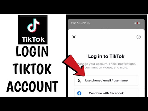 How to Login in Tiktok using Mobile Number