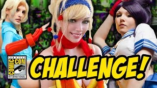 COMIC CON COSPLAY CHALLENGE!!