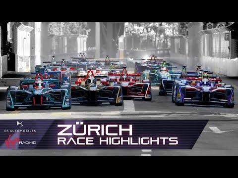 Formula E Zürich E-Prix Race Highlights! (DS Virgin Racing S4 R10)
