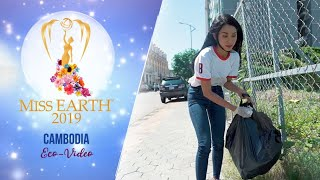 Thoung Mala Miss Earth Cambodia 2019 Eco Video