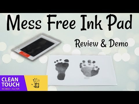 Clean Touch Ink Pad - Review & Demo!