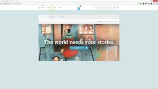 Create Account & Class for Storybird