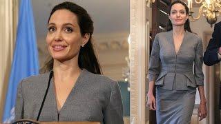 Анджелина Джоли заметно поправилась