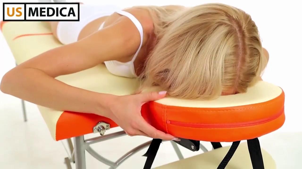 Легкий складной массажный стол