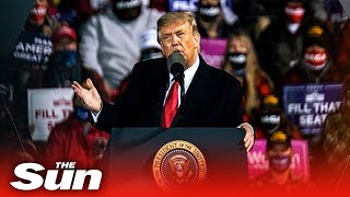 Live replay: Donald Trump's Minnesota campaign rally