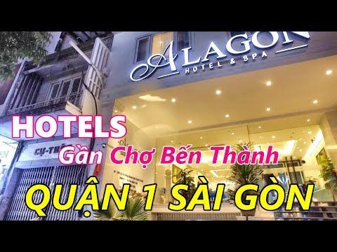 Khách Sạn Đường Gia Long (Lý Tự Trọng) Quận 1 Sài Gòn (Khách sạn 1 Sao và 4 sao)