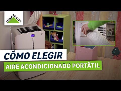 ¿Cómo elegir e instalar aire acondicionado portátil? (Leroy Merlin)