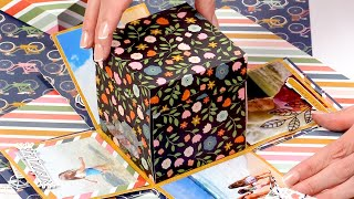 The Only Exploding Box Tutorial Youll Ever Need | Scrapbook.com