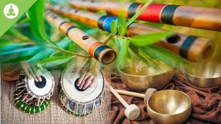 Flute, Tabla and Tibetan Bowl, Pure Positive Vibes, Morning Meditation, Stress Relief