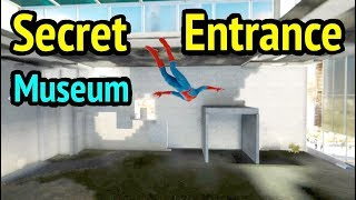 Spider-Man PS4: Inside Museum (Out of Bounds and Under Map Glitch) - Marvel