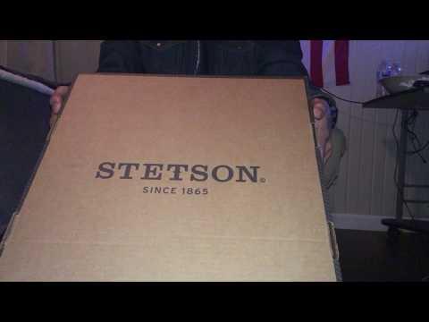 Stetson 4X Seneca Silversand Buffalo Felt Cowboy Hat Unboxing