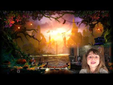 Trine 2 - Прохождение игры для детей. Обзор на русском - часть 1