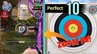 ARCHERY KING CHEAT PERFECT EVERYTIME! 100% BETTER ACCURACY! EASY TUTORIAL!