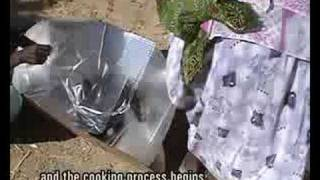 preview picture of video 'Cooking with the sun (Eritrea)'