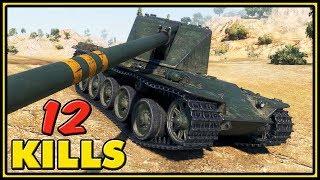Emil I - 12 Kills - World of Tanks Gameplay
