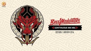 DEFQON.1 2016 (Album) Bass Modulators Continuous Mix #01