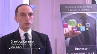 preview picture of video 'DISC SPA Gianluca Celauro e Bonaldi Raffaella - Intervista'