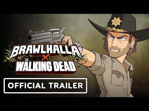Brawlhalla & The Walking Dead Crossover – Official Trailer