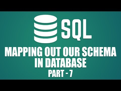 Mapping Out Our Schema |  Learn Database Design with MySQL | Part 7