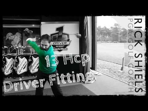 TaylorMade Driver Fitting with 13 Handicapper Rob Potter