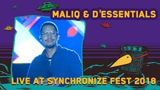 Maliq  D'Essentials Live at Synchronizefest 5 Oktober 2018