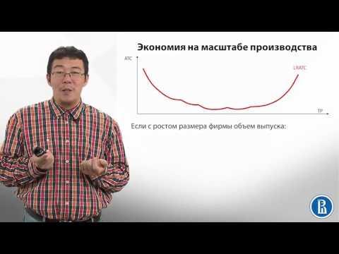 4.8 Издержки фирмы в долгосрочном периоде