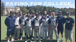 College Baseball Recruitment:  Paying For College