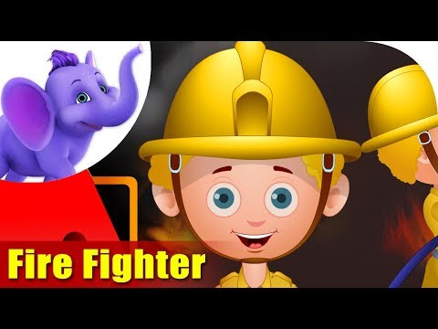 Fire Fighter - Rhymes on Profession