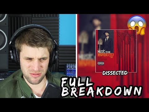 Eminem - Godzilla ft. Juice WRLD DISSECTED! | THE FULL BAR BREAKDOWN (REACTION)