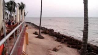 preview picture of video 'Le Meridien Re-Ndama Hotel - View Gabon Estuary - Libreville Gabon 6th March 2010'