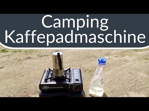 Kaffeepadmaschine für Camping & Wohnmobil