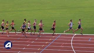 Bondoufle 2018 : Finale 2000 m steeple Cadets (Axel Fournival en 5'53''91)