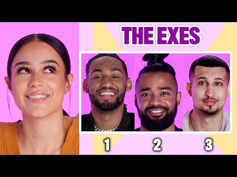 3 Ex-Boyfriends Describe Their Relationship With The Same Woman | All My Exes | Glamour