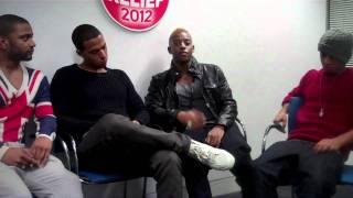 JLS talk about their official Sport Relief 2012 single, Proud