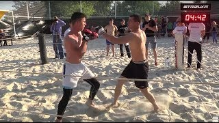 Красавчик против Бойца Без Правил !!! Отличный бой !!!