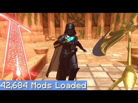 Blade and Sorcery VR but I downloaded every single mod 4