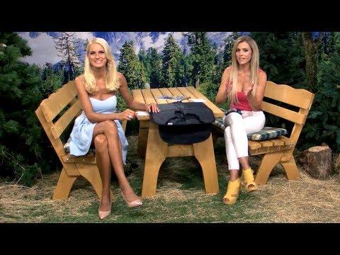 Kindersitz-Unterlage mit Katie Steiner (Juli 2018)