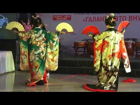 Oiran and Samurai DANCE