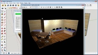 Sketchup Booth Design Tutorial