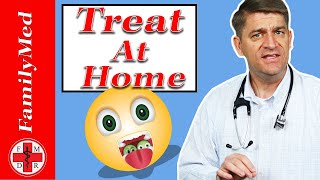 How to Treat that Sore Throat at Home!