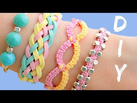 Μπορείς να φτιάξεις κι εσύ τα πιο cool χρωματιστά βραχιόλια για σένα και την κολλητή σου! thumbnail