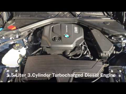 Фото к видео: 2016 BMW 116d Cold Start / 1.5L 3.Cyl Diesel Engine F20 Facelift/LCI