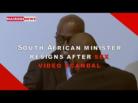 South African minister resigns after sex video scandal