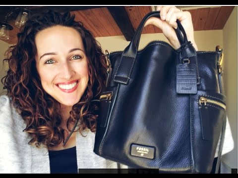 Fossil Emerson Satchel | Review | What's in it?