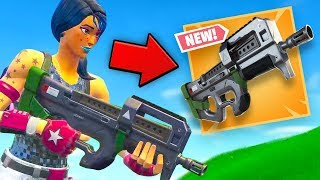 *NEW* LEGENDARY COMPACT SMG Fortnite Gameplay