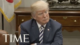 President Trump Cracks Down On Immigration In Sanctuary Cities At Law Enforcement Roundtable | TIME