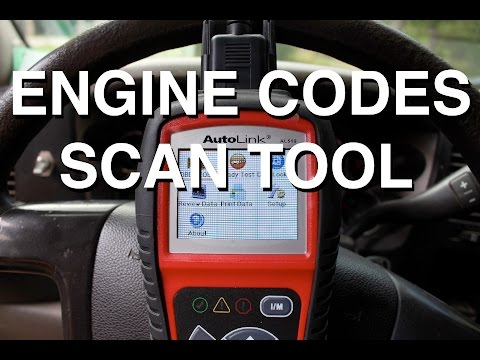 Check Engine Codes with a Scan Tool