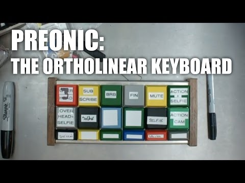 OLKB Preonic - The Ortholinear 60% - Unboxing And Build