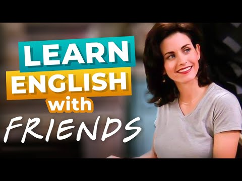 Monica Bangs Ben's Head | Funny English Lesson with FRIENDS